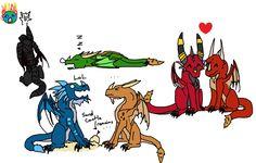 Warcraft Dragon Aspects, so kawaii!