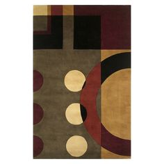 KAS Rugs Signature Jeweltone Contempo Area Rug - SIG9125
