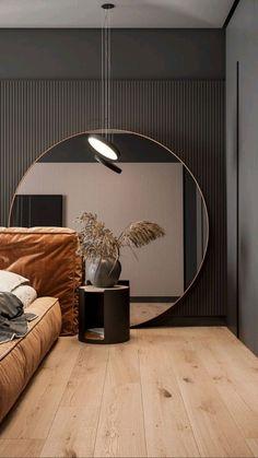 Modern Bedroom Design, Home Room Design, Master Bedroom Design, Home Decor Bedroom, Bedroom Wall, Home Interior Design, Interior Decorating, Blue Bedroom, 1930s Bedroom