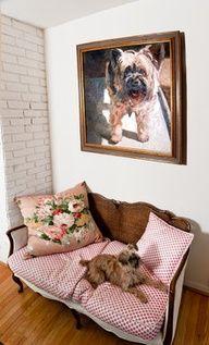 Art and Pink  Sofa