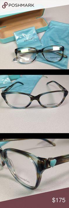 2ab5f991885 NWOT Tiffany Ocean Turquoise Frames w  Case NWOT Tiffany glasses frames in  Ocean Turquoise have