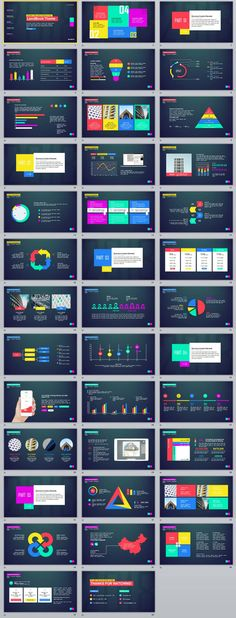 38+ multicolor annual report chart PowerPoint Templates #powerpoint #templates #presentation #animation #backgrounds #pptwork.com #annual #report #business #company #design #creative #slide #infographic #chart #themes #ppt #pptx