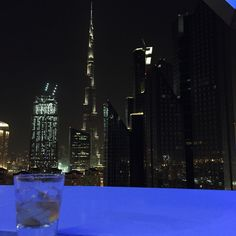 The epic views from Mint Leaf Of London #Dubai! cheers to that and the #weekend!