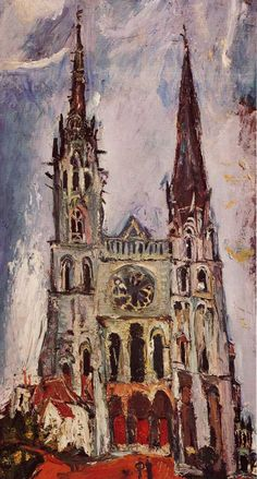 Chaïm Soutine - Chartres Cathedral  1933