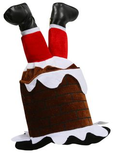 Santa Novelty Hat for #Ugly Sweats Party