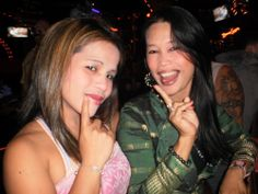 Cheeky pair.. Angeles City (PI) gogo girls... #philippines #privatedancer #angelescity #pinaygirls