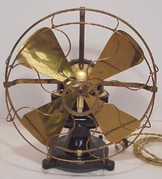 1903 Western Electric bipolar fan : 1903 Western Electric bipolar fan