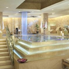 QUA Baths & Spa at Caesars Palace by HBA / Hirsch Bedner Associates