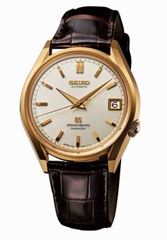 Grand Seiko 62GS Historical Collection in yellow gold | Time and Watches