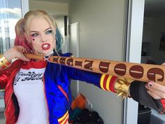 The one, the only, the infamous Harley Quinn! 🔺🔻🔺🔻🔺🔻🔺🔻🔺🔻🔺🔻🔺🔻🔺…