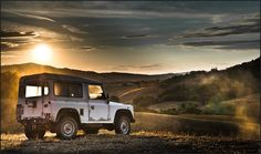 Defender at days end...it has been a great day !