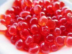Falso Caviar de Fresa .. Strawberry caviar - By Enlavidasana.wordpress.com