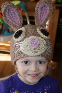 Free rabbit beanie pattern
