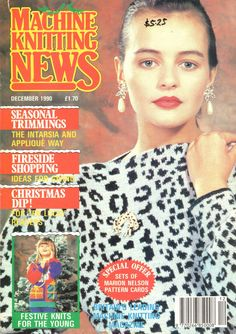 Machine Knitting News Magazine 1990.12 Free PDF Download 300dpi ClearScan OCR
