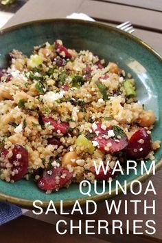 Easy recipe using cherries.