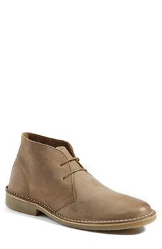 Harken' Leather Chukka Boot | Steve madden, Leather and Leather ...