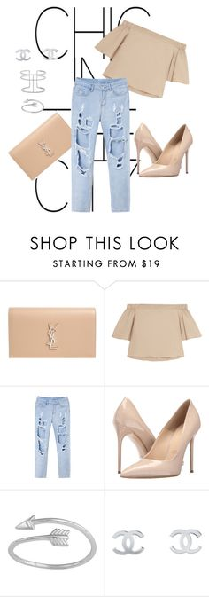"""Chic in the City"" by annajosefinas ❤ liked on Polyvore featuring Yves Saint Laurent, TIBI, Massimo Matteo, Midsummer Star, Chanel and APM Monaco"