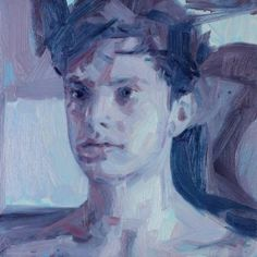 "Saatchi Art Artist Liam Marc O'Connor; Painting, ""Blue Boy"" #art"