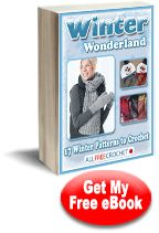Winter Wonderland 17 free crochet patterns e book
