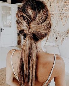 MORE PICTS You can also see more ideas about summer hairstyles men , summer hairstyles balayage , summer hairstyles updo , summer hairstyles. Pretty Braided Hairstyles, Chic Hairstyles, Ponytail Hairstyles, Hair Updo, Simple Hairstyles, Summer Hairstyles, Popular Hairstyles, Easy Wedding Guest Hairstyles, Hair Extension Hairstyles