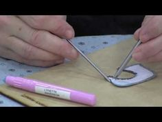 Lynette Anderson Demonstrates Glue Stick Needleturn using Apliquick Tools - YouTube