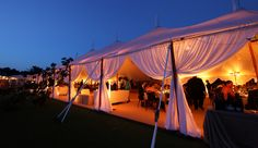 Sperry Tent Drapes // Sperry Tents Southeast // Skyline Tent Company