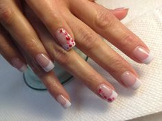 Going dotty with acrylic ,shellac & gel :)