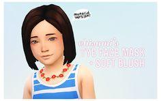 My Sims 4 Blog: Chisami's Tye Face Mask Soft Blush