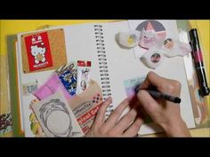 スマッシュブック デコレーション/smashbook process - YouTube