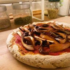 Pizza di riso e grano saraceno