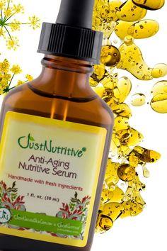 Anti-Aging Nutritive Serum | Anti-Aging - Serums & Oils | Just Nutritive