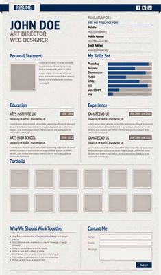 Hello everybody, I'd like to show you creative virtual resume template. So today, here we have a simple and clean resume template design, created in Photoshop . Resume Design Template, Creative Resume Templates, Number Web, Work For Hire, Uk Universities, Creative Curriculum, Photoshop, Free Resume, Web Design
