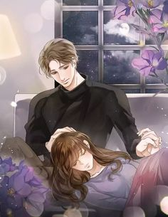 Good night sweet dreams Jaan Take care . I Love You Sweetie Anime Girl Drawings, Anime Couples Drawings, Anime Couples Manga, Anime Art Girl, Manga Couple, Anime Love Couple, Love Cartoon Couple, Anime Cupples, Anime Guys