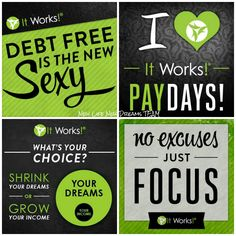Looking for a change and want to experience more time Freedom? http://RebeccaB.myitworks.com