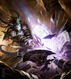 Reprisal World of Warcraft Trading Card Game - Drums of War Wow Draenei, Warcraft Art, World Of Warcraft, Wow World, Awesome Wow, Heroes Of The Storm, Wow Art, Starcraft, Monsters