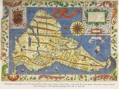 Plano del Perú, Chile, Nuevo Reino y Tierra Firme 1618