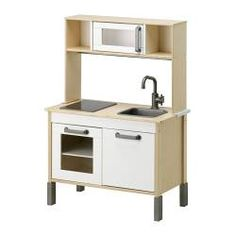 Cute and simple kitchen at ikea DUKTIG Mini-kitchen IKEA Encourages role play; children develop social skills by imitating grown-up. Play Kitchens, Ikea Play Kitchen, Mini Kitchen, Toy Kitchen, Kitchen Sets, Kitchen Modern, Wooden Kitchen, Toddler Kitchen, Pretend Kitchen