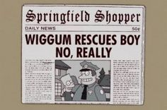The 16 funniest newspaper headlines from The Simpsons The 16 funniest newspaper headlines from The Simpsons – Mirror Online The post The 16 funniest newspaper headlines from The Simpsons appeared first on Paris Disneyland Pictures. Gift Quotes, Funny Quotes, Quotes Quotes, Simpsons Funny, 50th Birthday Quotes, Newspaper Headlines, Gifts For Boss, Tv Show Quotes, Friend Birthday Gifts