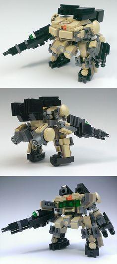 Lego Mecha by Zizy