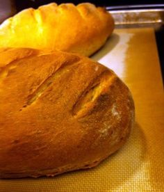 People see baking your own bread as the utmost challenge for a home cook, but the fact is, people have done it for thousands of years and the recipe is really pretty forgiving. You don't have to worry about gluten formation or hydration percentages--heck, you don't even have to measure the flour!
