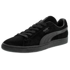 Men's Fashion I like! Puma Platform, Platform Sneakers, Classic Sneakers, All Black Sneakers, Puma Suede, Puma Mens, Classic Leather, Athletic Shoes, Mens Fashion