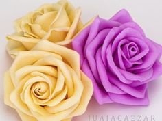 Создаем нежную розу из фоамирана - Цезарь Юлия Викторовна - Ярмарка Мастеров http://www.livemaster.ru/topic/2369037-sozdaem-nezhnuyu-rozu-iz-foamirana