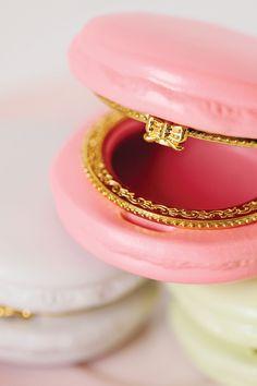 Macaron trinket box from Tomkat Studio