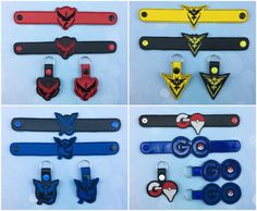 ONE Team Set  Pokemon Go   Team Valor  Team by ANewHopeCrafts