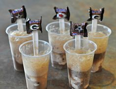 NFL Snickers Mini Spoons and Floats