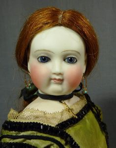 FIREWEED GALLERY on Ruby Lane http://www.rubylane.com/item/742916-RL499/Early-17-Barrois-French-Fashion #antiquedoll