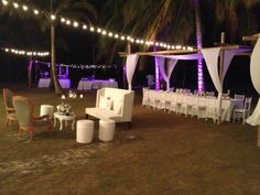Beach Wedding at Punta Faro, Colombia by MY Group Eventos