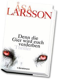 Asa Larsson: Das Originalcover