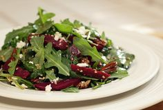Healthy Recipe: Arugula & Beet Salad - Peace Love Shea