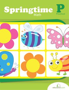 Springtime Math | Printable Workbook | Education.com